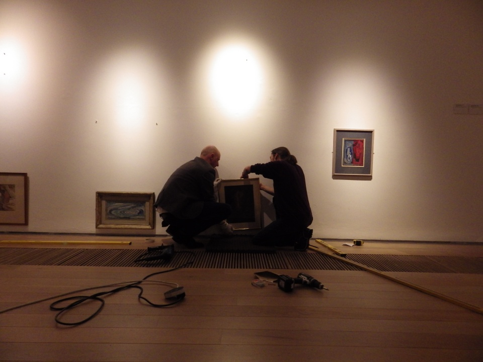 Carmen Papalia - For Erik Furgesun, rehang in progress